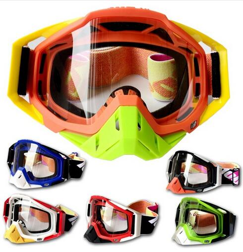 (1pc&6colors) Newest Brand 100% Motocross Goggle MX Glasses For Racing Motorcycle Helmets Gafas Cycling Protective Gear(China (Mainland))