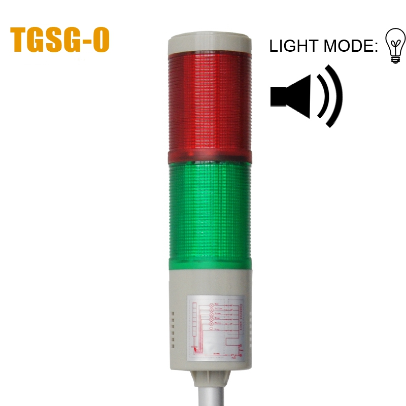 LTA-205 DC12V 2 Layer Bulb Warning Lamp Alarm 90dB Indicator Lights Industrial Emergency Strobe Light Beacon Tower Signal(China (Mainland))