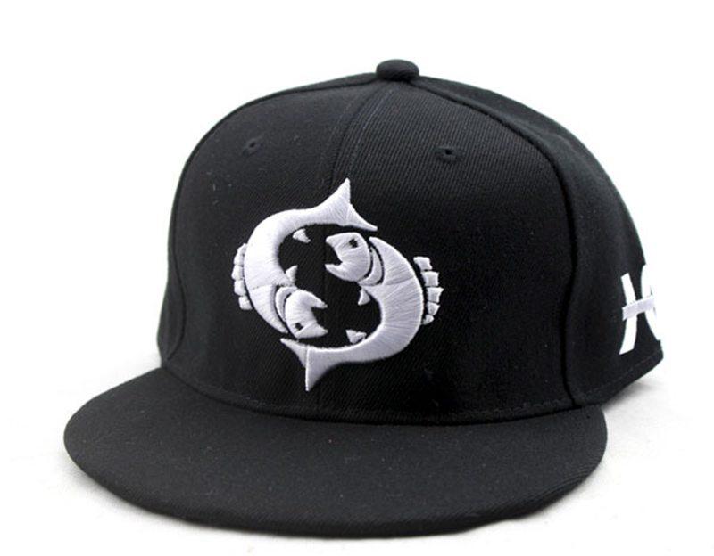 Yienws Men Baseball Cap Snapback Caps Hockey Aries Taurus Gemini Cancer Leo Virgo Libra Scorpio Sagittarius Capricorn H368