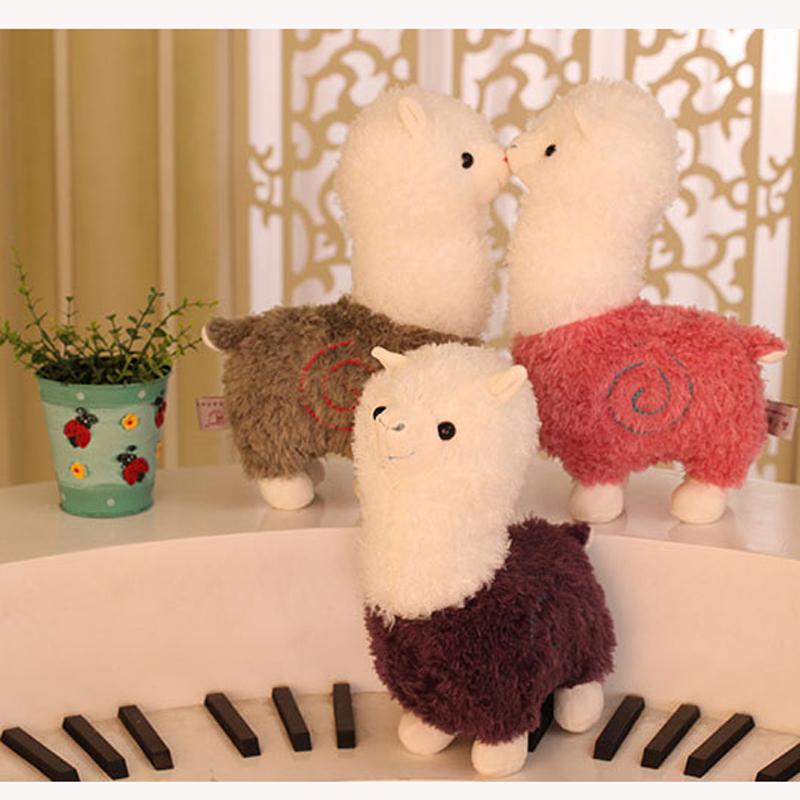 alpaca for kids decoration crafts plush doll animal big cute alpaca