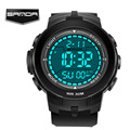 2016 New Brand SANDA Watch Men Military Sports Watches Fashion Silicone Waterproof LED Digital Watch For