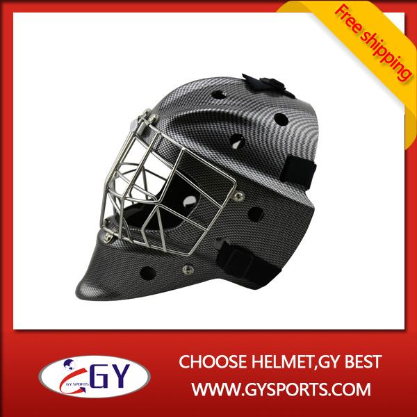 2015 good performance Polycarbonate goalie mask carbon fiber design(China (Mainland))