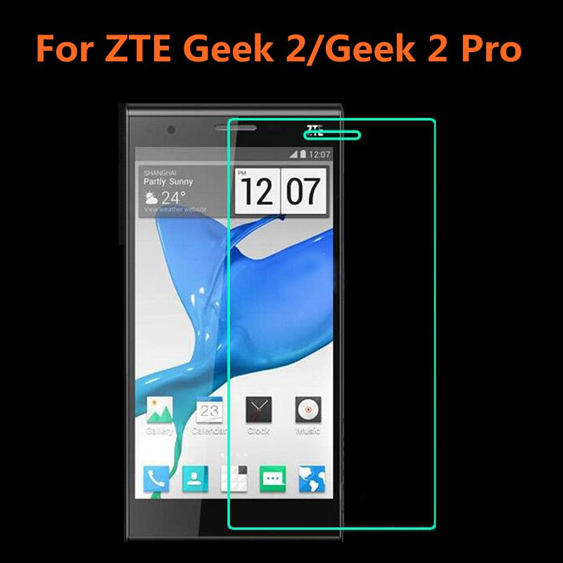 ZTE Geek 2 Tempered Glass Original 9H High Quality Protective Film Explosion-proof Screen Protector for ZTE Geek 2 Pro(China (Mainland))