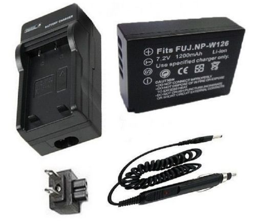 Details about Battery + Charger for Fujifilm BC-W126, NPW126, NP-W126 Lithum Ion Rechargeable<br><br>Aliexpress