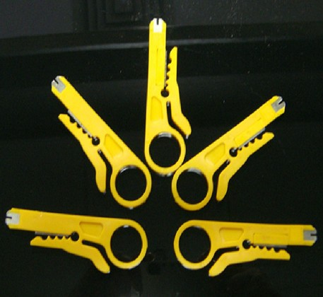 5pcs/lot RJ45 Cat5 Network Wire Cable Cutter UTP Stripper Stripper Tools network tester tool Punch Down Cutter(China (Mainland))