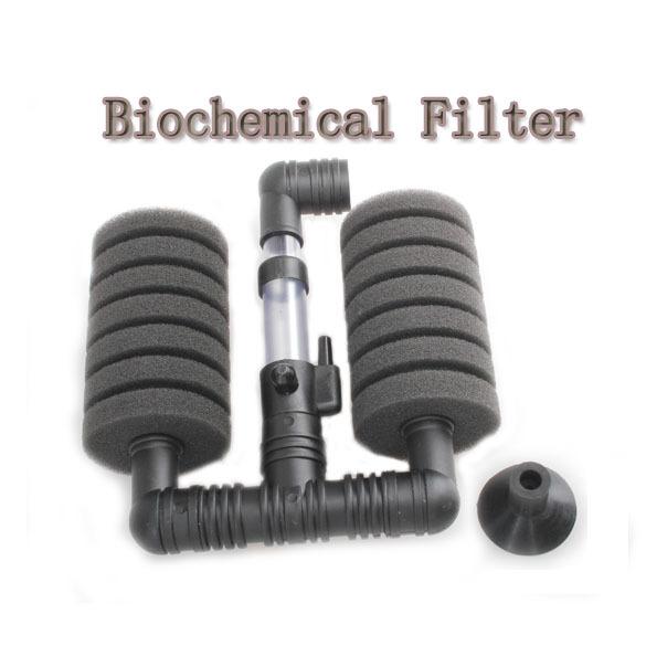 Hot Sale New Practical Aquarium Biochemical Sponge Filter Fish Tank Air Pump E5M1(China (Mainland))