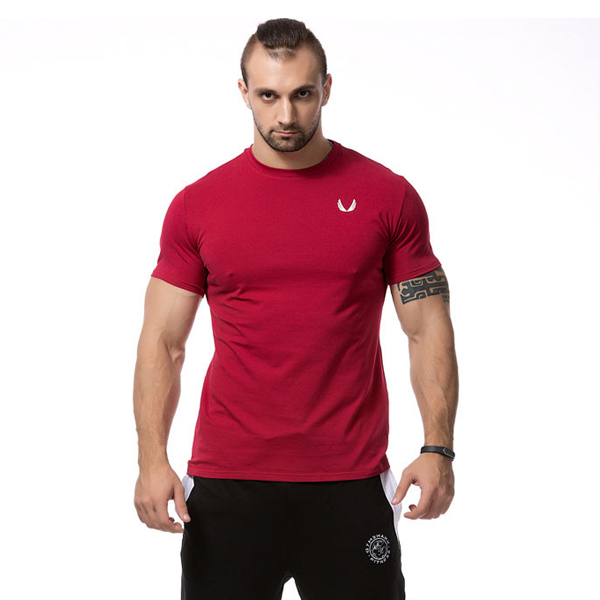 2015 bodybuilding clothes s sport t shirt