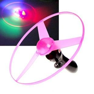 Flash Flying Disk Electric UFO Toys Flying Saucer 10pcs/lot Free Shipping