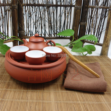 Special purple Kung Fu Tea Set ; travel Tea Set small portable simple tea tea