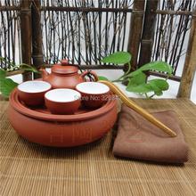 Special purple Kung Fu Tea Set travel Tea Set small portable simple tea set