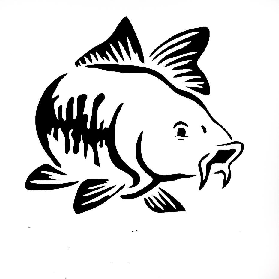 трафареты рыб для лодок