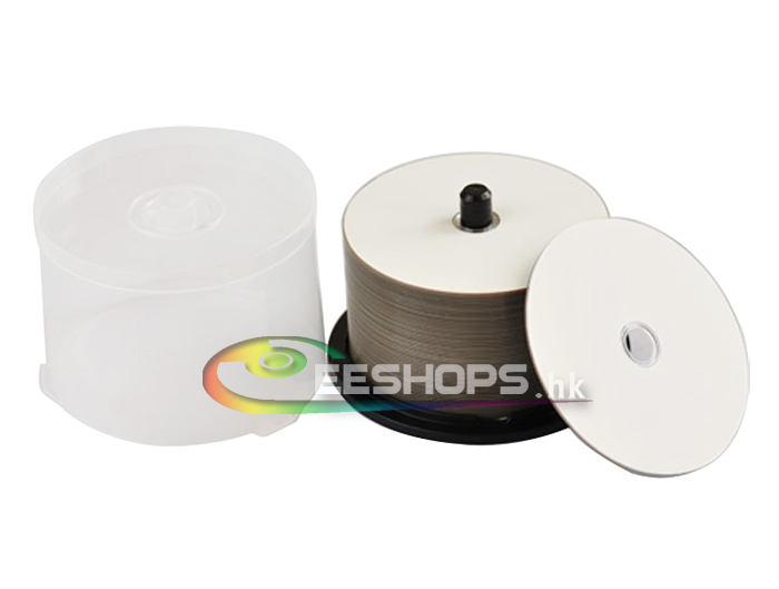 New for CMC Printable Recordable 12X 6X BD-R DL 25GB Blank Blu-ray Disc 130Min Rewritable DVD Discs Lot 50pcs Spindle Pack Case(Hong Kong)