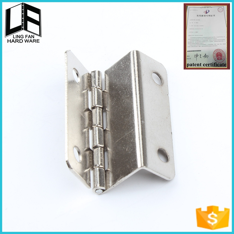 furniture hardware accessory iron hinge for doors, small steel butt hinges , 270 degree hinge(China (Mainland))