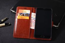 TUKE Hot Selling Meizu MX5 Case Wallet Style PU Leather Case for Meizu MX5 with Stand Function and Card Holder