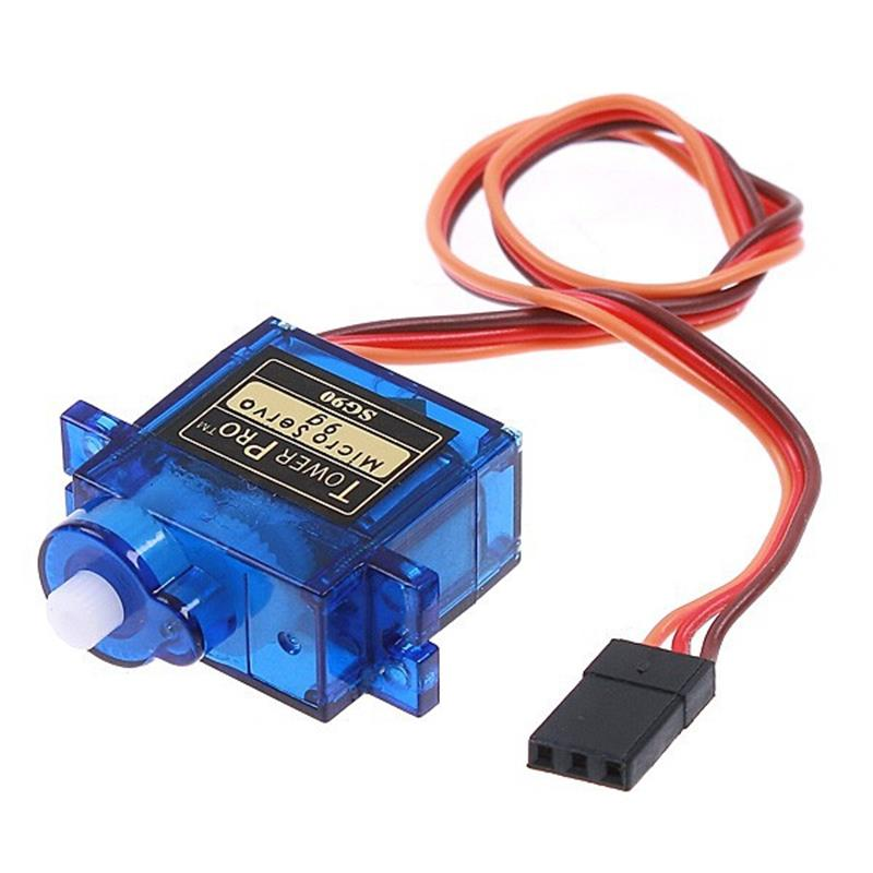 1 Piece Servo SG90 9g Micro Servos Motors For Robot 6CH RC Helicopter Airplane Controls for Arduino Free Shipping(China (Mainland))