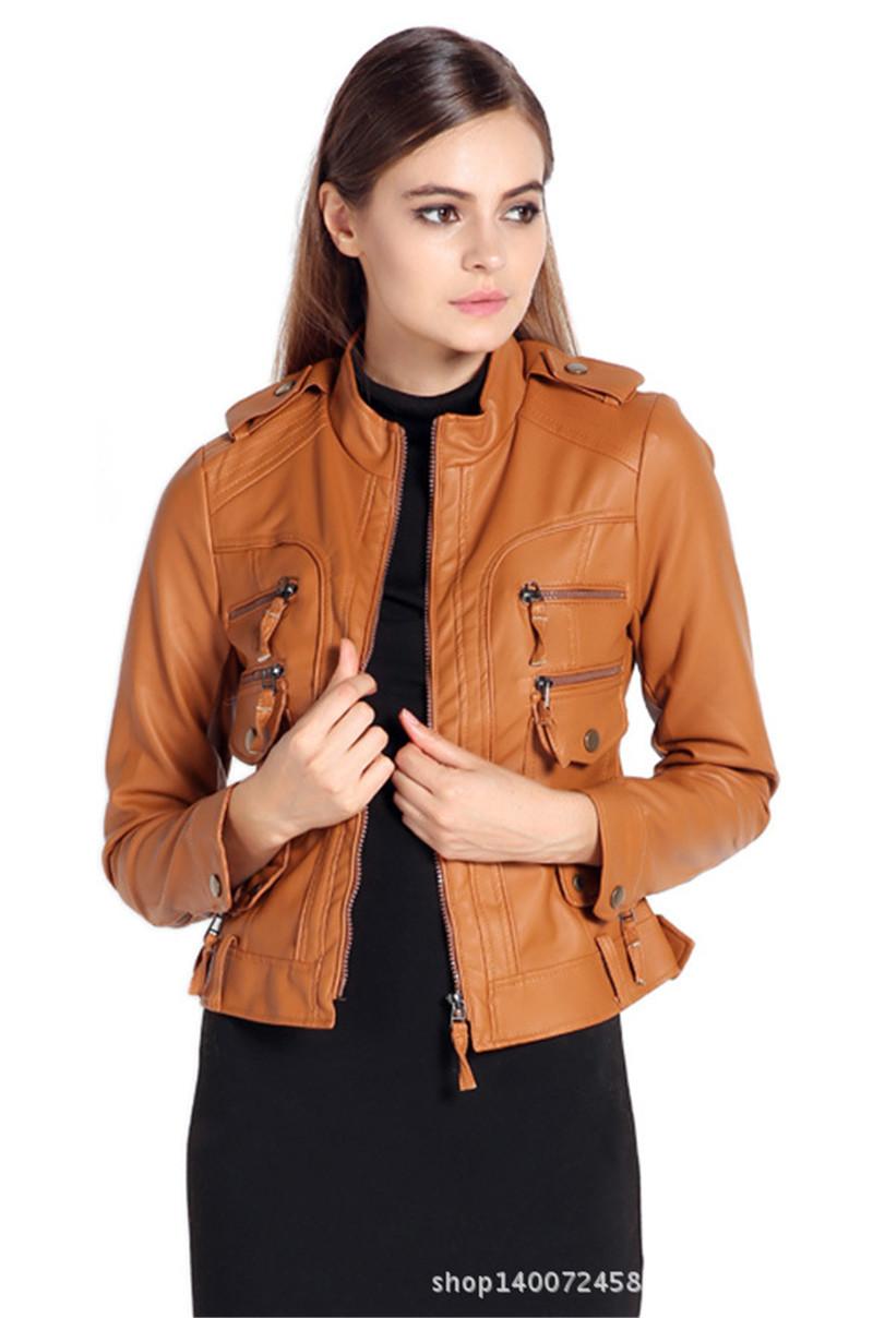 Brown Jackets Ladies