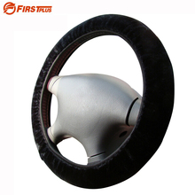 Buy 36 37 38cm Universal Elastic Steering Wheel Covers Winter Plush Stretchable Car Steering Wheel Cover Black Gray Beige Brown for $4.19 in AliExpress store