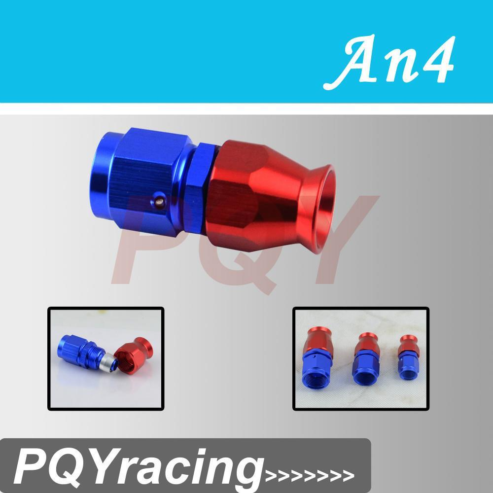 VR Racing Store- High Quality AN4 AN-4 Straight REUSABLE SWIVEL TEFLON HOSE END FITTING AN4(China (Mainland))