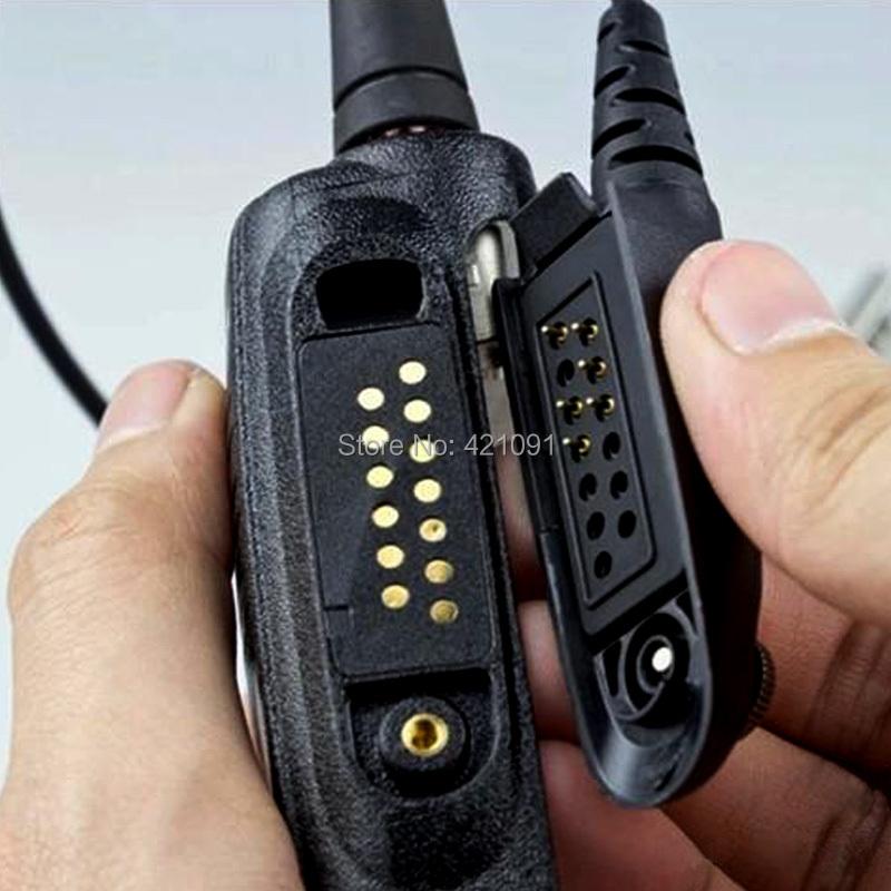 Воздушная трубка анти-излучения наушники микрофон для Motorola рация GP328 GP338 GD380 GP340 HT750 HT1250 динамик Accessorie