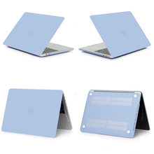 New Laptop untuk Apple Macbook Air Pro Retina 11 12 13 15 Mac Book 15.4 13.3 Inci dengan Touch bar Lengan Shell + Keyboard Cover(China)