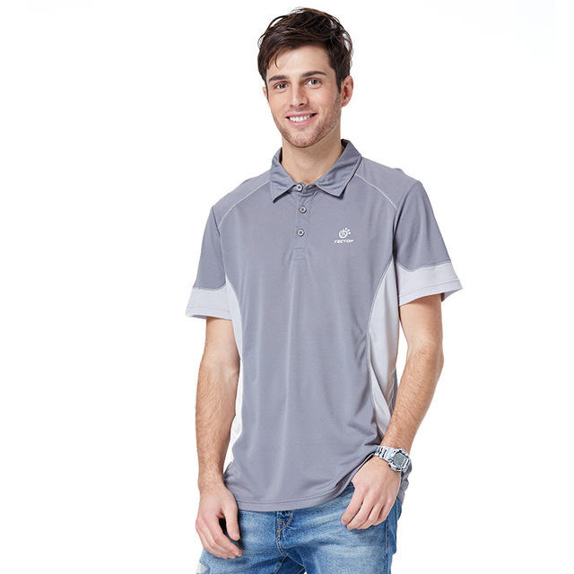 2015 europe and american style golf polo shirt summer for Men s polyester polo shirts