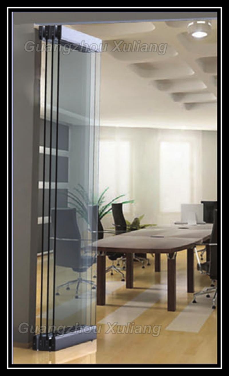 Sin marco plegable puerta corrediza de vidrio en puertas de mejoras para el hogar en aliexpress - Vidrio para puerta ...