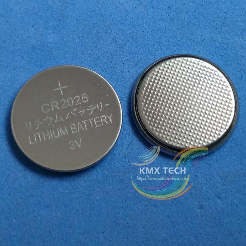 Hot selling + 5 CR2025 ECR2025 DL2025 BR2025 2025 KCR2025 L12 Battery 3V Lithium Button Coin Cell Battery For Toy Watch colock(China (Mainland))