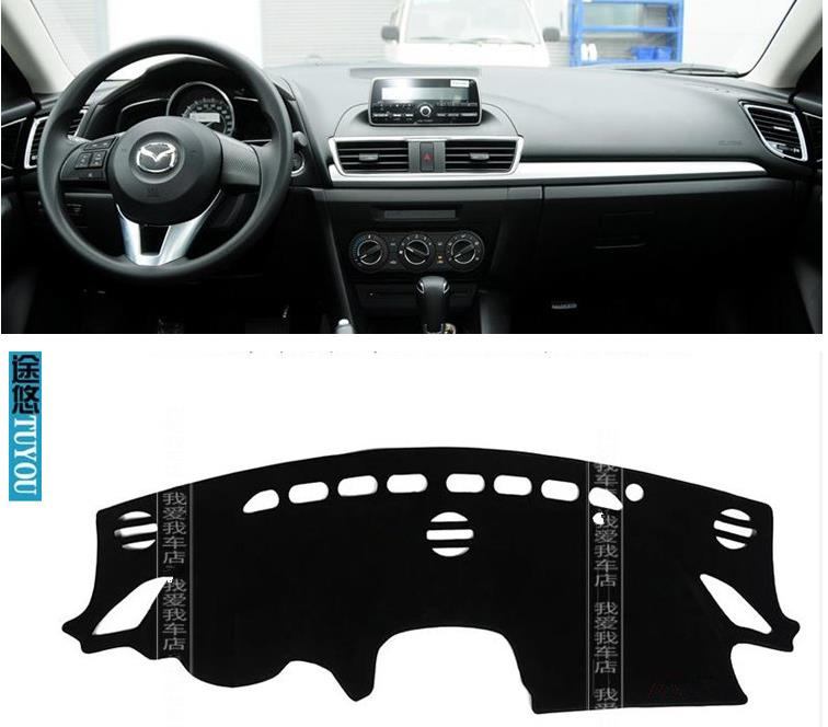 Car dashboard covers Instrument platform pad car accessories sticker .Fits mazda 3  axela 2006 2011 2014 <br><br>Aliexpress