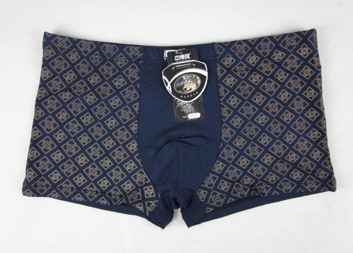 5pcs lot Underwear Men Sexy Print Bamboo Mens Boxers Male Shorts Boxer 3XL 4XL 5XL