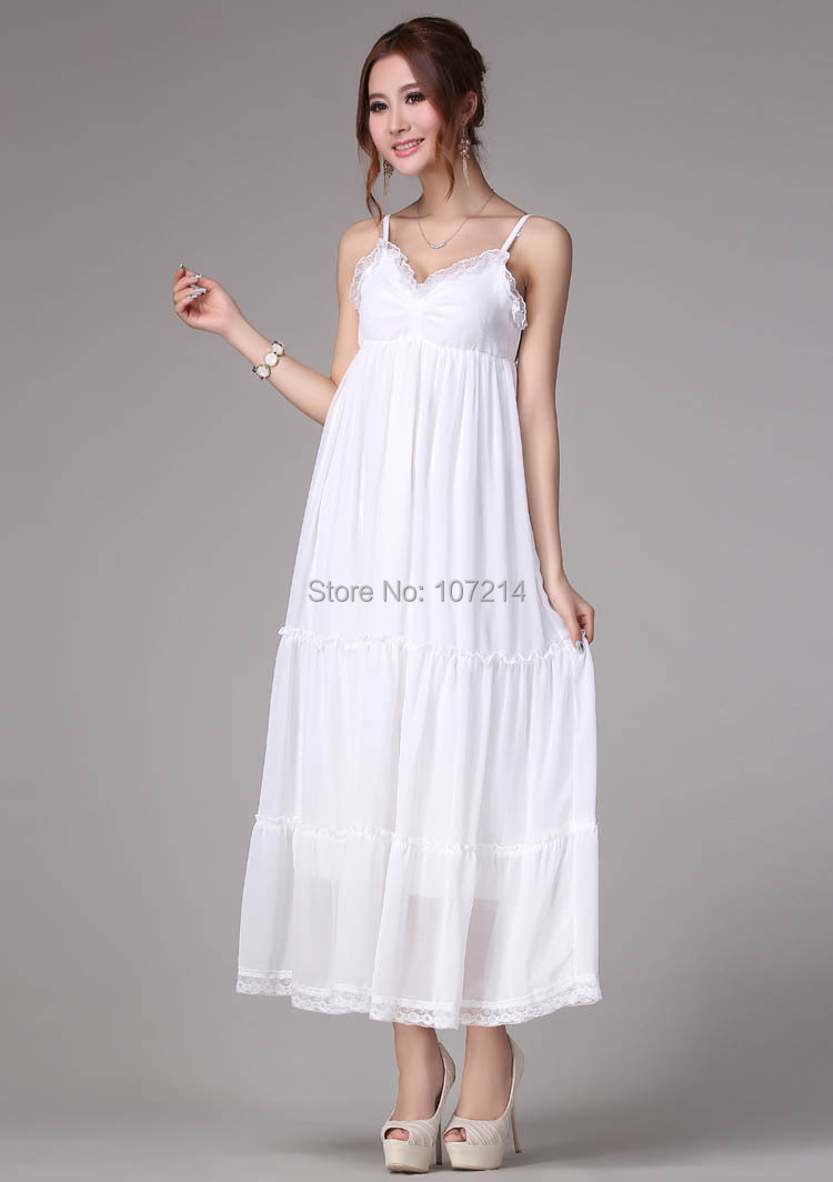 White Beach Dresses For Women