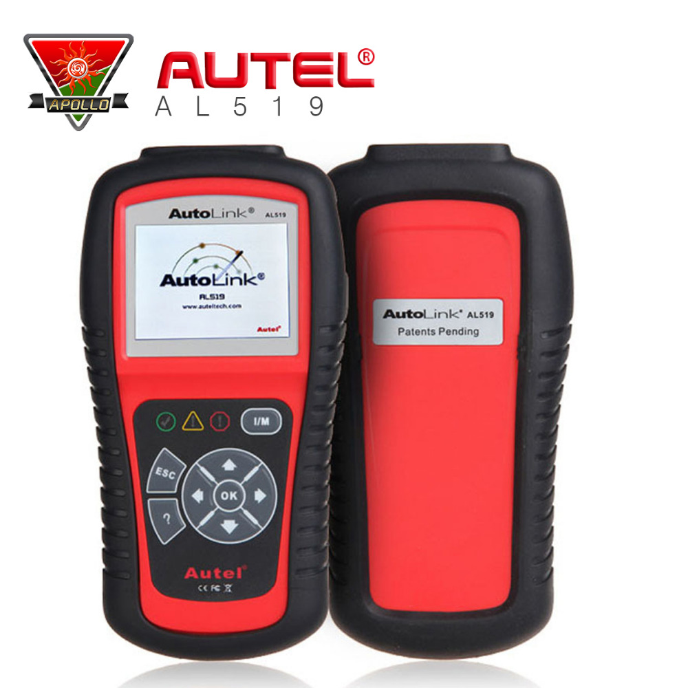 Original Autel Autolink AL519 scanner with promotion price ORIGINAL Autel AL 519 Code Reader work on ALL 1996 and newer vehicles(China (Mainland))