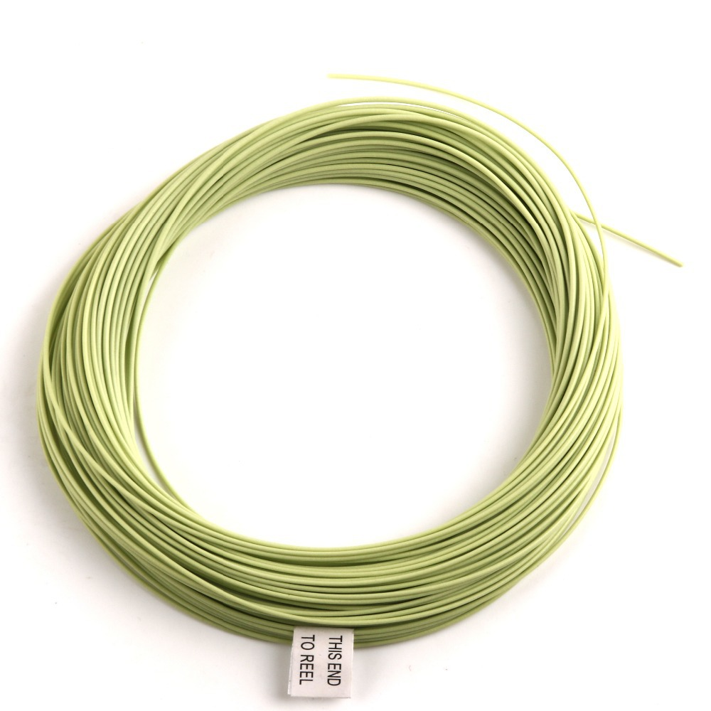 FREE SHIPPING 100 FT Weight Forward Floating Fly Fishing Line Multy Color And Size to Choose