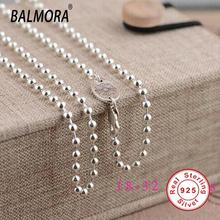100% реального чистая стерлингового серебра 925 ювелирных изделий ожерелья для женщин 925 серебряные цепочки рождественский подарок высокое качество ожерелье JLW60124(China (Mainland))