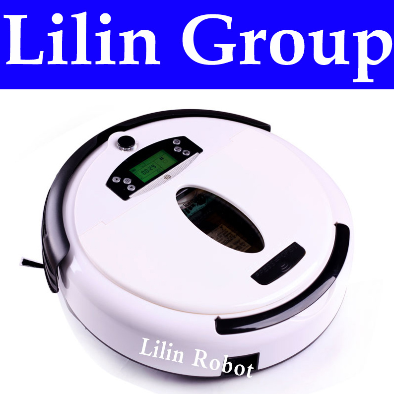 (Free to Russia) Robot Vacuum Cleaner, Multifunctional (Vacuum,Sweep,Mop,Flavor), LCD Screen,Virtual Wall,Schedule,Self Charge(China (Mainland))