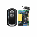 AC220V 1CH RF Wireless Remote Control Switch System 315 433 MHZ Transmitters Receiver Learning code Add