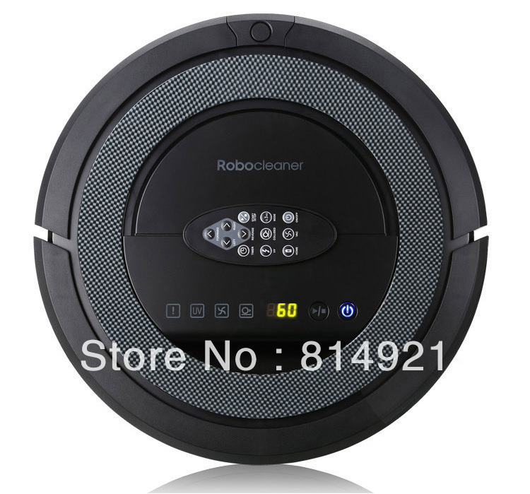 (Free to Czech Republic)5in1 Robotic vacuum cleaner QQ5,self-checking problem,self-slow down when it feel the funiture(China (Mainland))