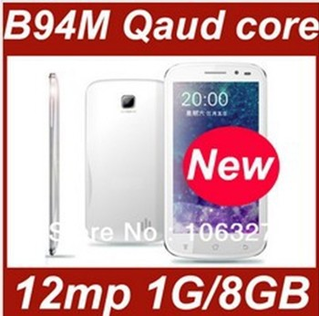 "Free shipping Star B94M (b92M)  cheapest mtk6589 Quad core phone 1.2GHZ 4.5"" IPS screen 1GB 4GB Jelly Bean android 4.1 Russian"