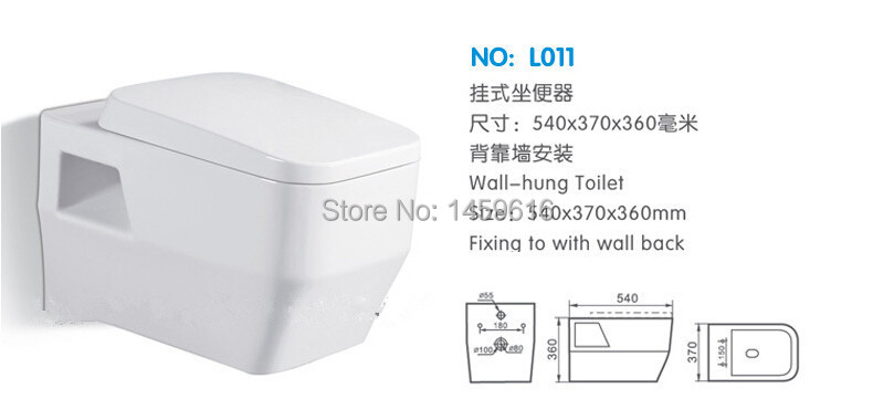 COMPACT SHORT PROJECTION WALL HUNG TOILET PAN CHROM PLATED SOFT CLOSE SEAT L011<br><br>Aliexpress