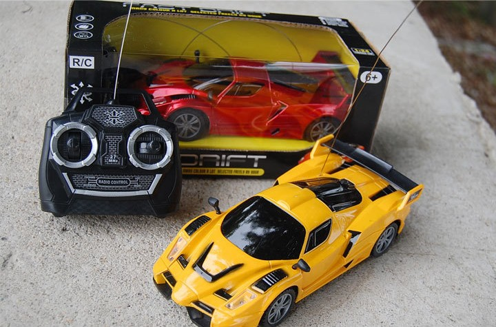 Toy Remote Control Cars For Boys : Fashion kids remote control cars electric radio