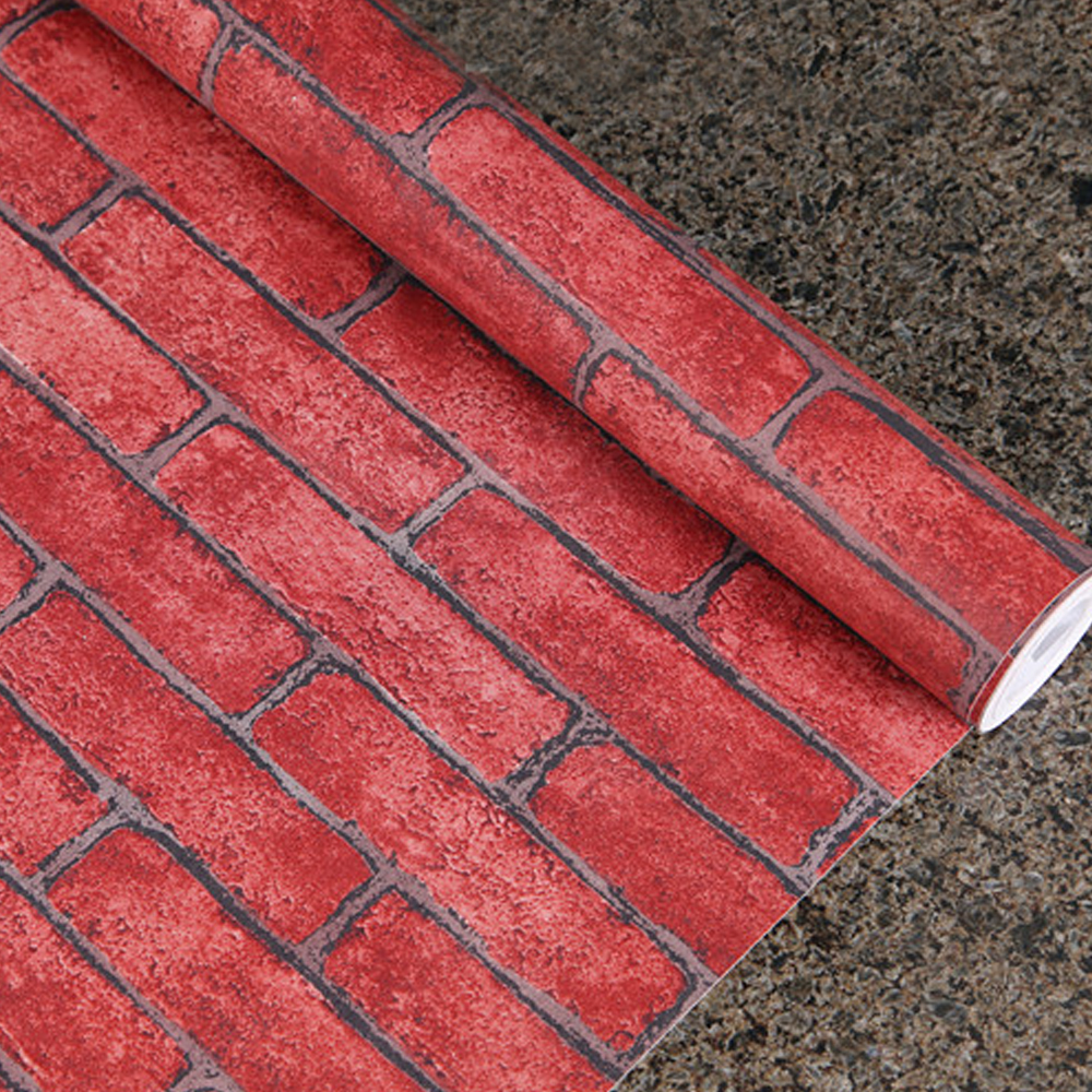 Red Brick Stone : Red shelf paper promotion shop for promotional