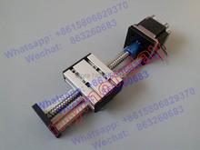 Buy SG 16mm 1605 Ballscrew Effective Stroke Travel Length 450mm Linear Guide Rail Sliding Table + 23 Nema Stepper Motor 57 CNC for $72.00 in AliExpress store