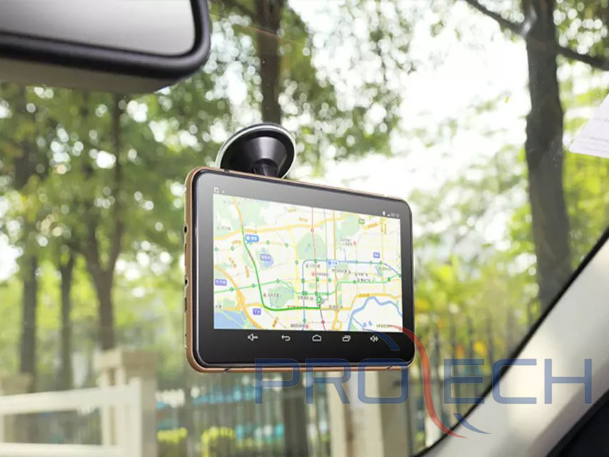 New 7 inch Car Android Car GPS navigator with DVR Built-in 8GB flash GPS ,FM ,Wifi, Bluetooth(China (Mainland))