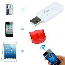 USB Wireless Bluetooth Stereo Audio Music Receiver Adapter For iPhone Smartphone Device