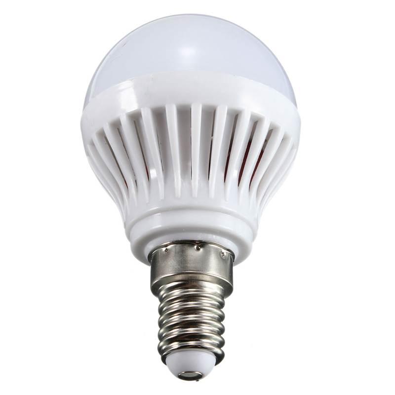Best Promotion E14 3W/4W/5W/6W 2835 SMD Energy Saving LED Globe Spot Light Bulb Lamp 220V Pure Warm White(China (Mainland))