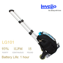 Lovego portable oxygen generator with oximeter replace oxygen cylinder(China (Mainland))