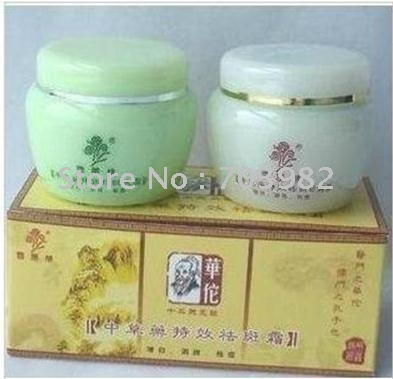 Free shipping Hua Tuo Chinese herbal effects freckle cream, whitening Xiaoban acne 20g*2<br><br>Aliexpress