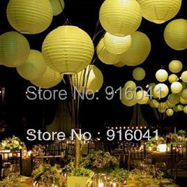 "10pcs/Lot DIY 20""=500mm Chinese Paper Lantern Wedding Party Celebration Home Decoration Event Art Festival Hotel Free Shipping(China (Mainland))"
