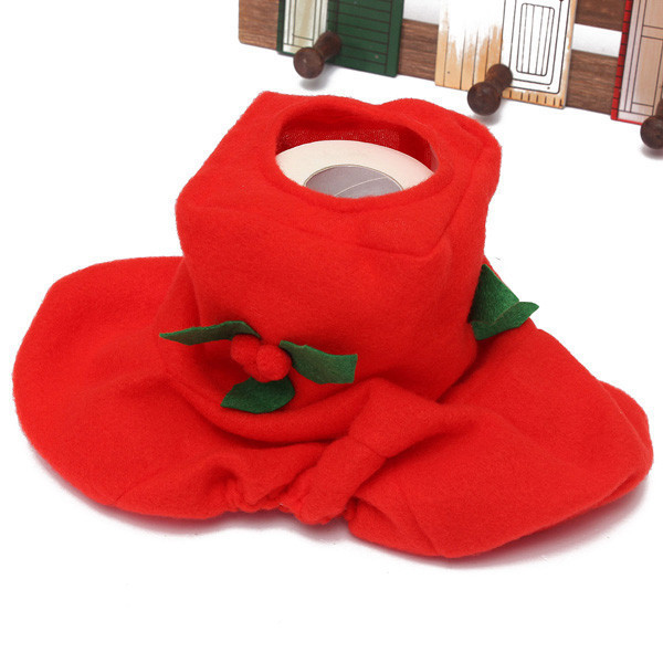 Santa Toilet Seat Cover Rug Bathroom Set Christmas Decoration Shop 12