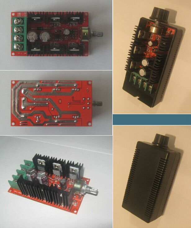 Wholesale!!! 2015 Brand NEW DC 10-50V 40A Motor Speed Control PWM HHO RC Controller 12V 24V 36V 2000W MAX-AU US(China (Mainland))