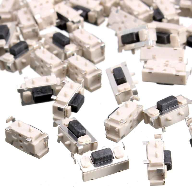 Best Promotion 100X DC12V Tactile Tact Push Button Momentary SMD Surface Mount Micro Switch 3x6x3.5mm(China (Mainland))